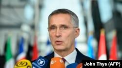 Sekretari i përgjithshëm i NATO-s, Jens Stoltenberg.