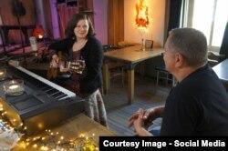 Музыкант Саитова Луиза шен белхан накъостца, Голланди