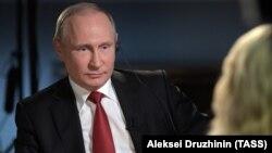 Orsýetiň prezidenti Wladimir Putin