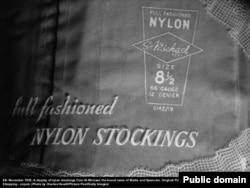 Нейлоновый чулок. 1950-е