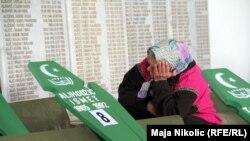 Ukop žrtava zločina u Vlasenici, 21.4.2012.