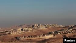 Еврейское поселение на Западном берегу Иордана.
