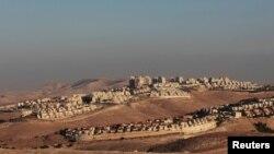 Qüds yaxınlığında yəhudi yaşayış məntəqəsi.