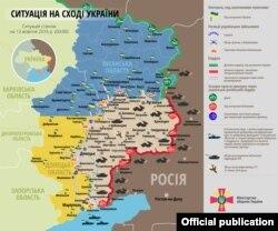 Поточна ситуація на сході України