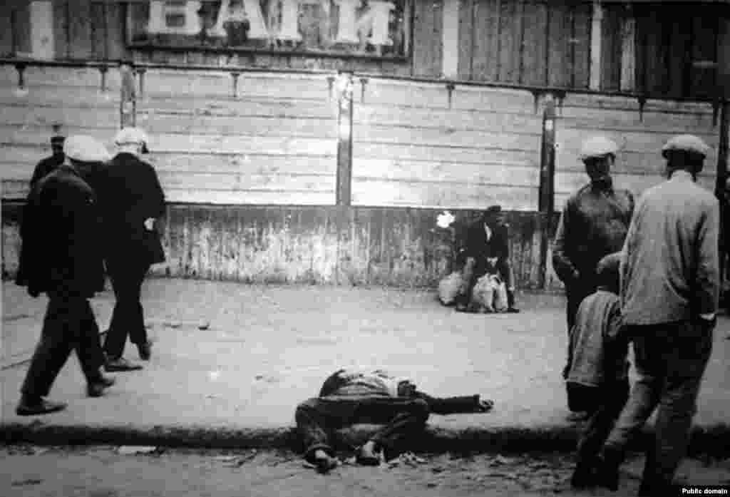 Голодна смерть у столичному Харкові, 1933 р. - Голодомор, голод, 1933