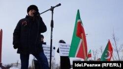 Митинг в защиту татарского языка. Казань, 2018 год