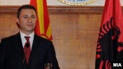 Премиерот Груевски во посета на Албанија.