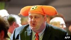 Сторонник либеральной Народной партии Голландии