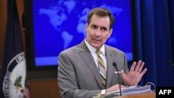 Пресс-секретарь государственного департамента США Джон Кирби.