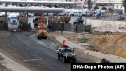 Թուրքական ստորաբաժանումները ներխուժում են Իրաք, հոկտեմբեր, 2017թ.