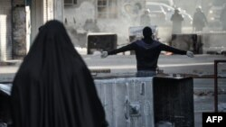 Protests in Bahrain by members of the Shi'ite majority against the Sunni-led government. (file photo)