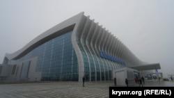 Туман в аэропорту Симферополя