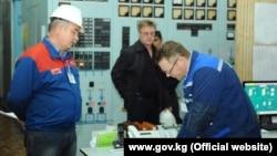 На ТЭЦ Бишкека. Иллюстративное фото.