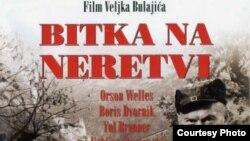 """Plakat filma """"Bitna na Neretvi"""""""
