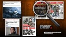 Izveštavanje medija u Srbiji o Bagiri