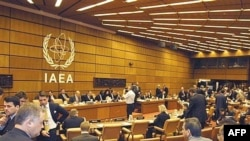 نمايندگان ۳۵ کشور عضو شورای حکام، از روز دوشنبه گزارش آژانس در باره ایران را بررسی می کنند. (عکس: AFP)