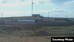 Тюрьма в городе Каражал Карагандинской области.