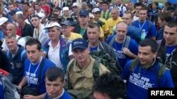 šesti po redu Marš mira, na kojem ove godine sudeluje preko 5000 prijavljenih građana iz cijelog sveta Foto: Maja Nikolić