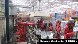 Fabrika Fiata u Kragujevcu, 2011.