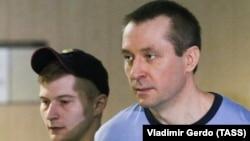 Дмитрий Захарченко на заседании суда, Москва, 15 мая