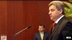 Претседателот Ѓорѓе Иванов.