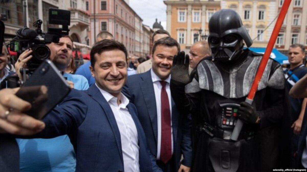 Освобождение Богдана: 9 месяцев работы на посту главы Офиса президента в фото