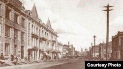 Уфан шәһәре, Александровская урамы, 1914-1918 еллар