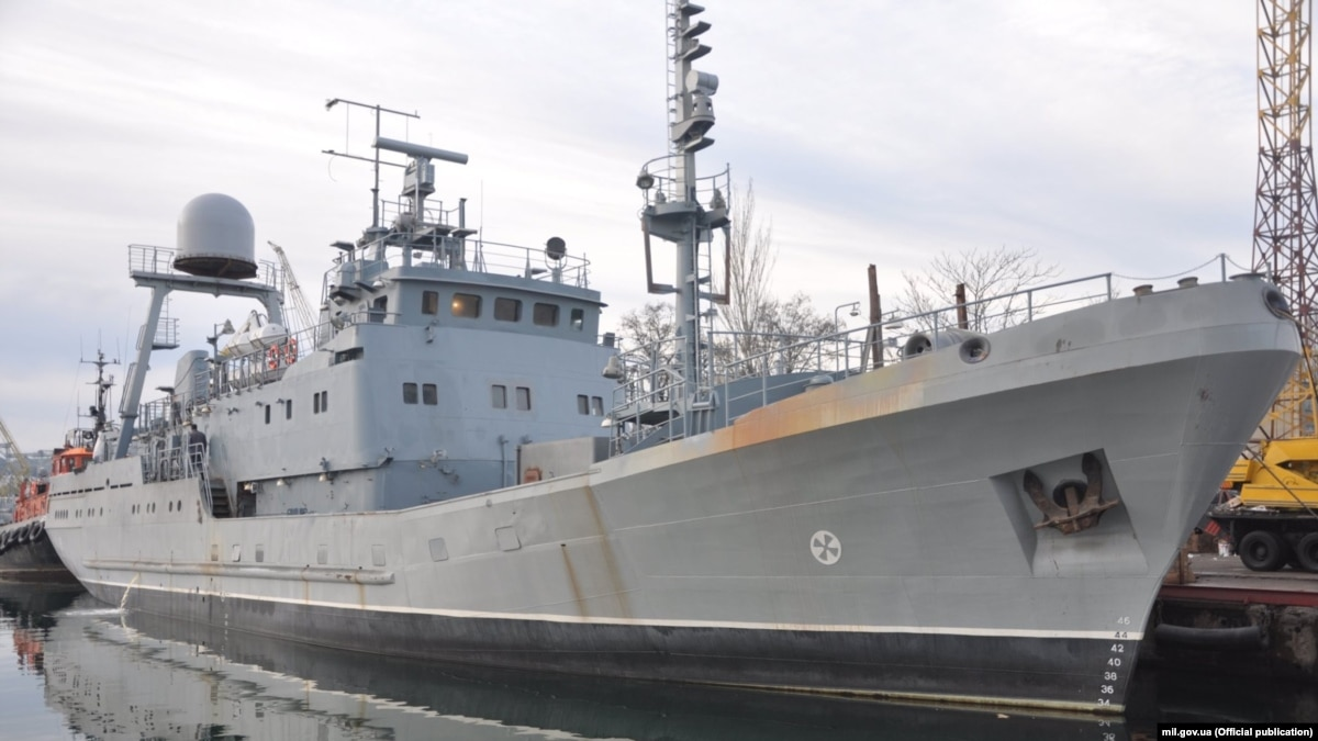 В Одессе вышел в море будущий корабль ВМС – Минобороны