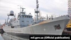 Випробування нового військового корабля в Одесі, 30 січня 2020 року