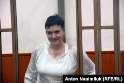 Надежда Савченко на суде в Ростовской области. 19 октября