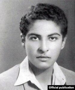 مسعود عربشاهی در جوانی