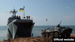 Середній десантний корабель «Кіровоград» (фото з сайту Українського мілітанрного порталу)