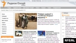 Tajikistan - Radio Ozodi website, 16Feb2010