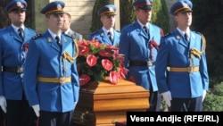 Varrimi i Jovanka Brozit në Beograd