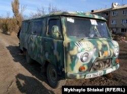 Автомобіль прес-центру 93-ї окремої механізованої бригади
