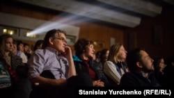 Ілюстративне фото. Глядачі під час відкриття XIV Міжнародного фестивалю документального кіно Docudays UA, березень 2017 року