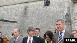 Џејмс Стаинберг при посетата на Црна Гора