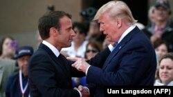 ԱՄՆ նախագահ Դոնալդ Թրամփ և Ֆրանսիայի նախագահ Էմանյուել Մակրոն, արխիվ