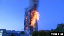Požar u londonskom neboderu
