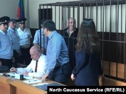 Во время заседания по делу мэра Махачкалы Мусы Мусаева