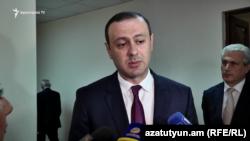 Armenia -- Armen Grigorian, Secretary of Security Council of RA. 11oct.,2019