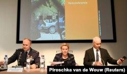 Ministrica odbrane Holandije Ank Bijleveld na konferenciji u Hagu, 4. oktobar