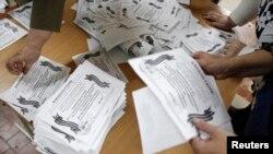 Fletëvotimet e referendumeve në lindje të Ukrainës