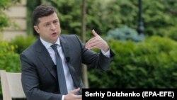 Украина президенті Владимир Зеленский.
