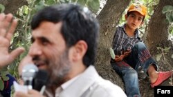 President Ahmadinejad's provincial visits frequently include talk of cheap loans and other costly pledges.