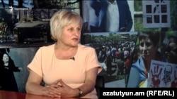 Սեդա Սաֆարյանը հարցազրույց է տալիս «Ազատությանը», արխիվ