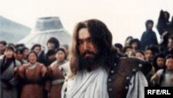 Кадр из фильма о Чингисхане