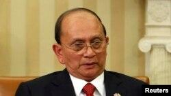 Тейн Сейн, президент Бирмы.