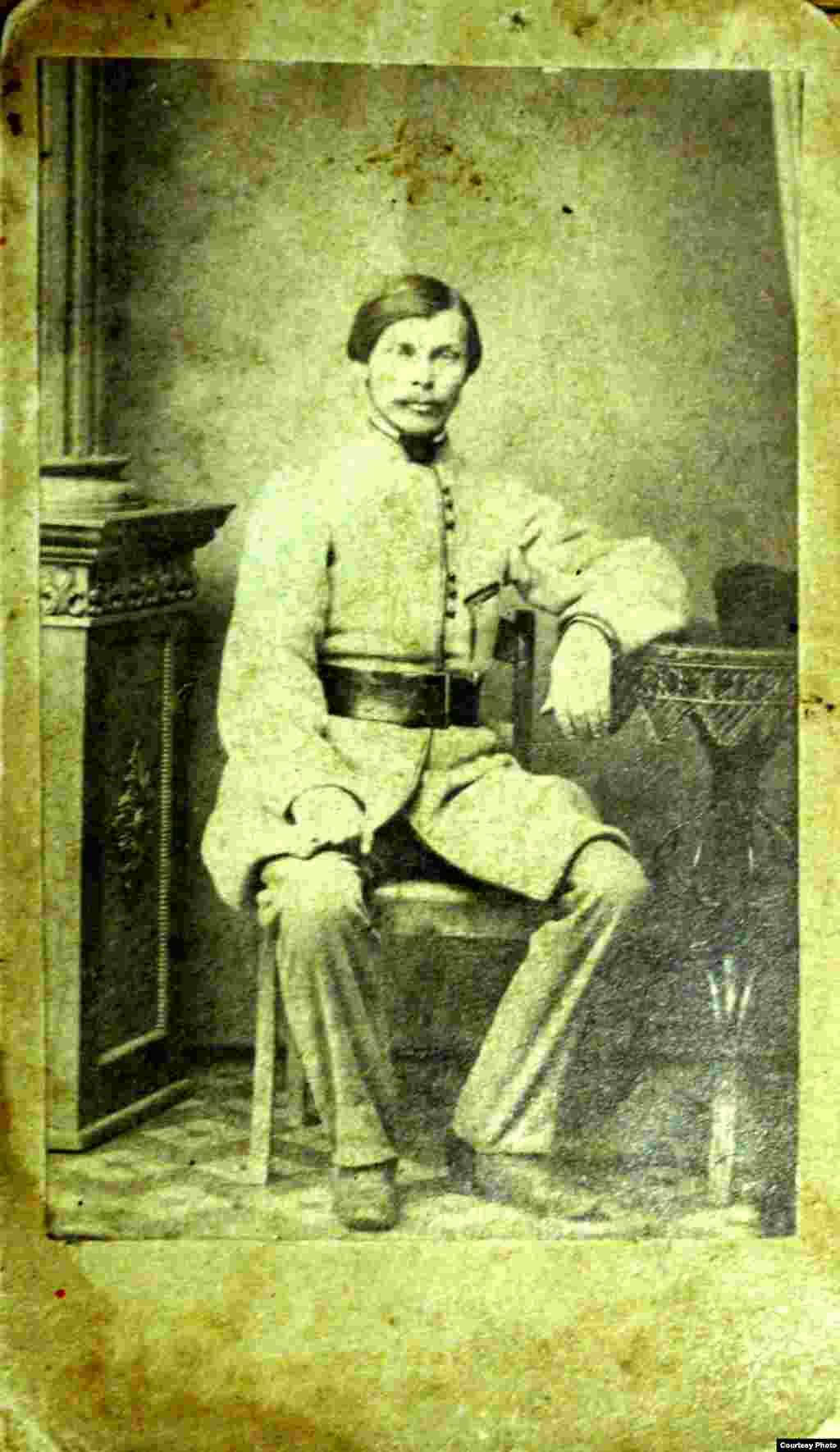 Малады Францішак Багушэвіч напярэдадні паўстаньня 1863 г. З фондаў НГМРБ