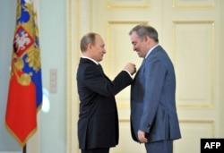 Володимир Путін та Валерій Гергієв
